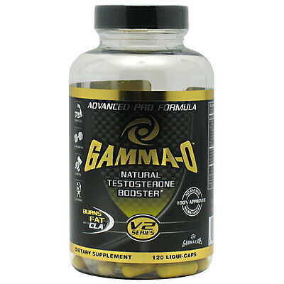 Gamma Labs - Gamma O - V2 Series - 120 Caps Best By Date