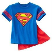 Superman Shirt Cape