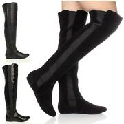 Black Stretch Pull on Boots