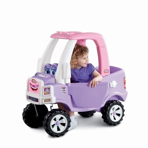 Little Tikes Princess Cozy Truck Ride-On Toy Outdoor Girls P