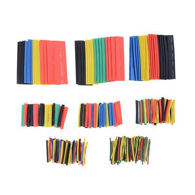 328pcs 21 Ratio Polyolefin Heat Shrinkable Tubing Sleeving Wrap Cable Kit  New
