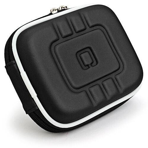 Black Eva Digital Small Camera Carry Case Pouch For Canon IV