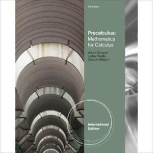 Precalculus books ebay precalculus stewart fandeluxe Image collections
