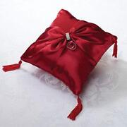 Red Ring Bearer Pillow