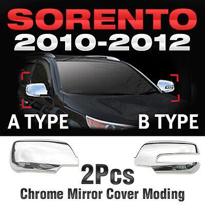 Chrome Side Mirror Cover Molding Trim B639 B640 For Kia 2010 - 2012 Sorento R