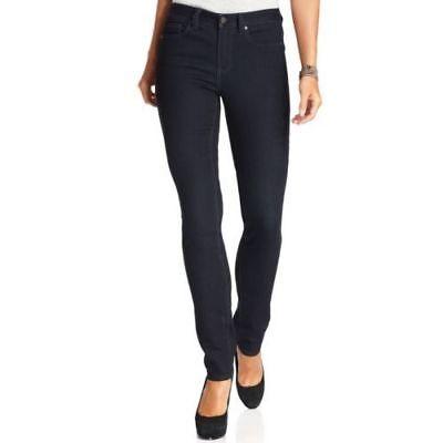 NEW Ladies' Calvin Klein Ultimate Skinny Jeans 10 x 32 INDIGO BLUE (444 RINSE)
