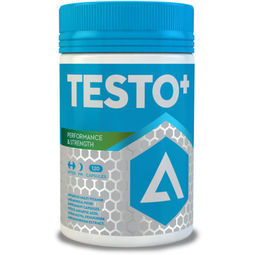 ADAPT NUTRITION TESTO+ - 120 CAPS - NATURAL TEST TESTOSTERONE BOOSTER SUPPLEMENT