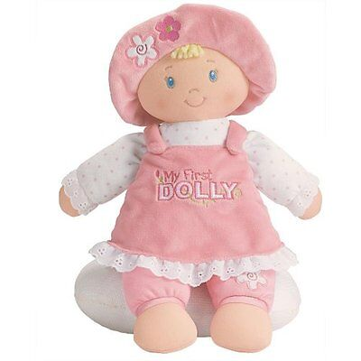 """Gund Baby M""""My First Doll"""" for Baby`s First Toy , New, Free Shipping"""