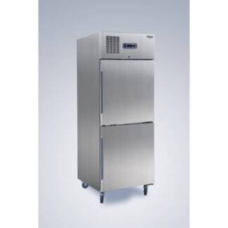 STOCK CLEARANCE!!! Commercial Upright Fridges - 2x1/2 Stainless S