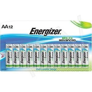 Energizer® EcoAdvanced™ Batteries - AA - 12 pack