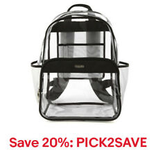 Clear event compliant large backpack, 20% off: PICK2SAVE