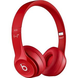 NEW/SEALED Beats Solo2 (PRODUCT)RED On-Ear Headphones Gloss Red