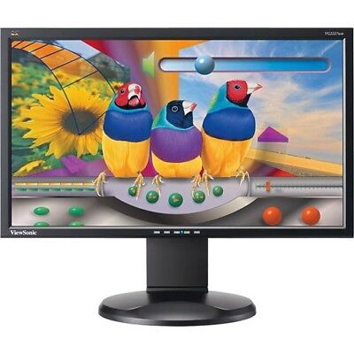 "22"" FULL HD Cheap Monitor 1080p Gaming PC Computer LED Various TFT DELL HP NEC"