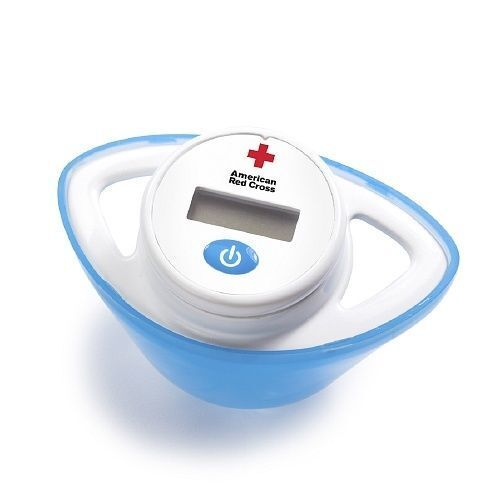 Red Cross Pacifier Thermometer