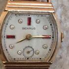 10K Gold Benrus Watch