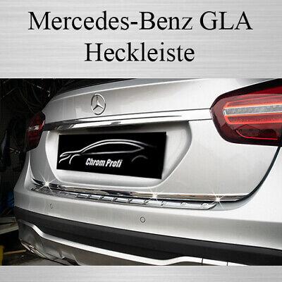 Mercedes GLA - 3M Chrom-Leiste Zierleiste Heckleiste Heckklappe Kantenschutz
