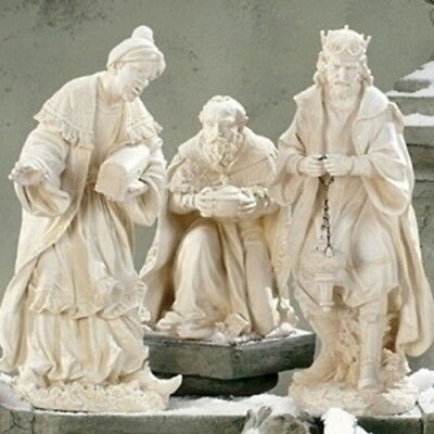 3 Kings Magi Outdoor Statues Best Nativity Set 3pc 27 inch Wisemen - Best Nativity Sets