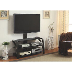 Z-Line Designs Fiore TV Stand Integrated Mount for Up 65