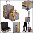 """Gray Suitcases 19"""" - 22"""" Size Travel Luggage"""