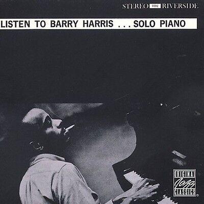 Barry Harris   Listen To Barry Harris  New Cd