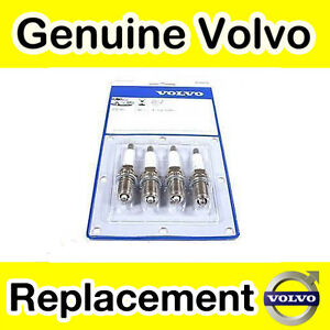 GENUINE VOLVO S40 V40 SPARK PLUGS 1.6 1.8 2.0 NON TURBO