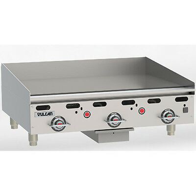 Vulcan Msa36 Commercial Griddle - Heavy Duty Natural Gas 36w