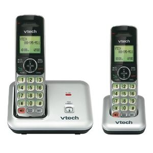 Vtech DECT 6 0 Cordless Phone Silver/Black Handsets Home & Office Product