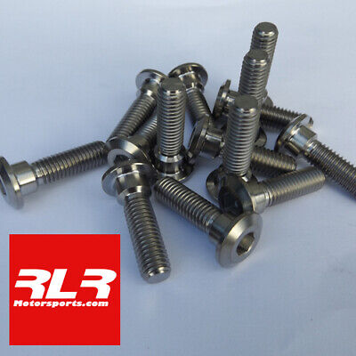 Titanium front and rear disc bolts 14 bolt set Kawasaki ZX6R  2012-19