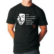 V for Vendetta T Shirt