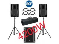 DJ PA SOUND SYSTEM (ACTIVE) - 4200W HIRE