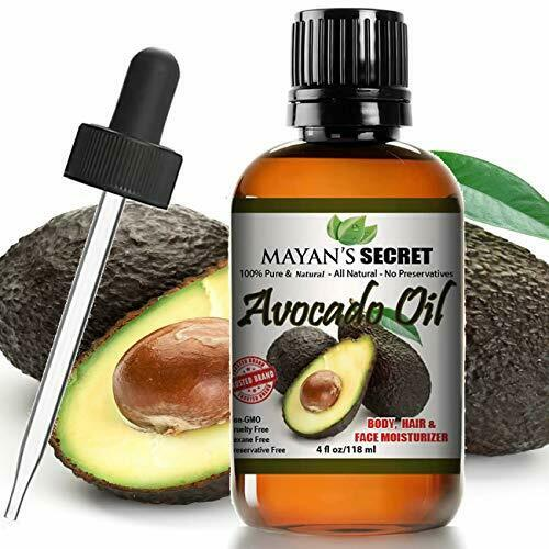 Avocado Oil For Hair Skin Nails – Natural Dry Skin Face Moisturizer – Collagen B Health & Beauty