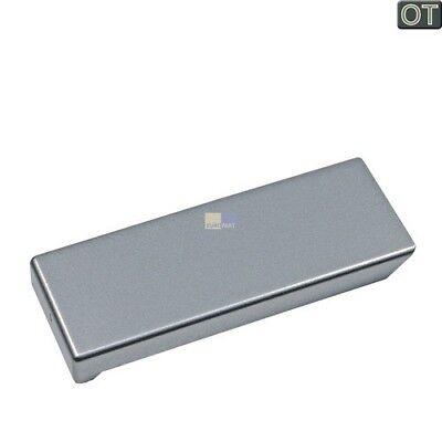 ORIGINAL Liebherr Abdeckplatte Platte Tür Griff Kühlschrank Edelstahl 9290864 ()