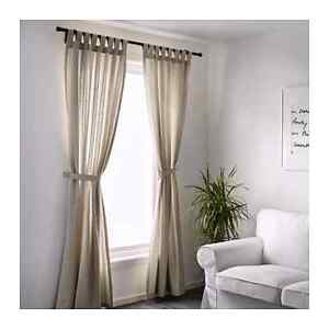New curtains and rods