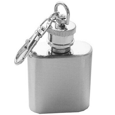 1 oz Mini Pocket Stainless Steel Wine Bottle Whiskey Liquor Hip Flask Hot ](Mini Wine Bottle)