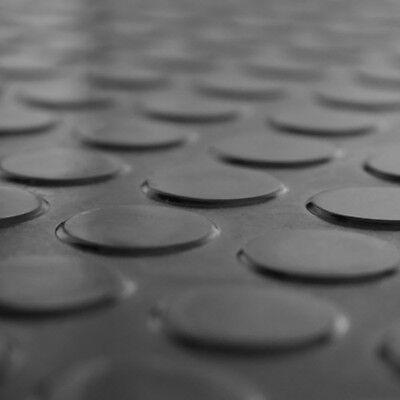 6m² Noppenmatte Bodenbelag Gummi 1,50m x 4,00m | 3mm