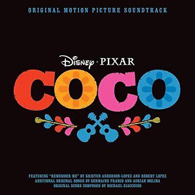 Coco ~ Original Movie ~ Film Soundtrack ~ NEW CD Album ~ Disney  Pixar