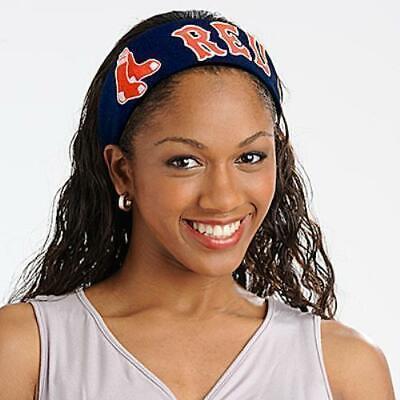 Boston Red Sox MLB Jersey FanBand Hairband Headband Boston Red Sox Headband