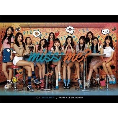 I.O.I-[Miss Me?] IOI 2nd Mini Album CD+Booklet+1p Photo Card K-POP Sealed