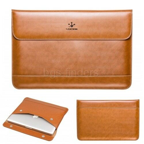 Leather Sleeve for MacBook Air 13 and MacBook Pro Air 13-inc