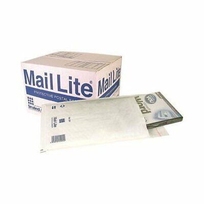 20 Pack K/7 - 350 x 470mm Sealed Air Mail Lite White Padded Envelope Mail Postal