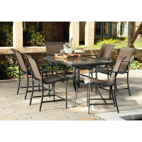 Concrete patio table ebay for Concrete patio table set