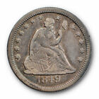 Silver Seated Liberty Quarter US Coin Errors