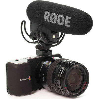 Rode VideoMic Pro w/ Rycote Lyre Shockmount Compact Shotgun Microphone UN-USED!