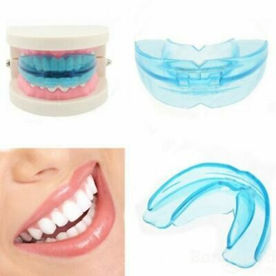 Dental Mouth Guard Orthodontic Appliance Tooth Alignment Trainer Retainer Soft