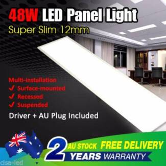 48W LED White SMD Ceiling Panel Down Light Bulb Lamp Square 300 x North Melbourne Melbourne City Preview