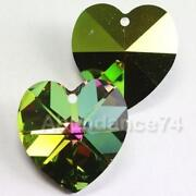 Swarovski Crystal Heart Beads