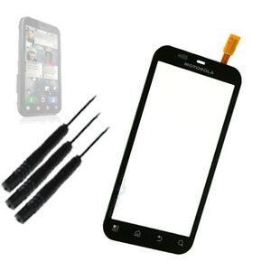 Replacement Touch Screen Digitizer Glass Lens for MOTOROLA DEFY MB525 + Tools