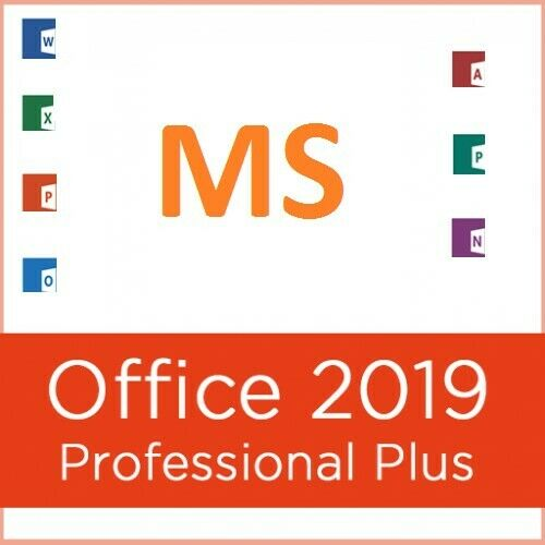 MS Office Pro Plus 2019 - Genuine 1 PC Install w/ Install Disk (SEE FEEDBACK!)