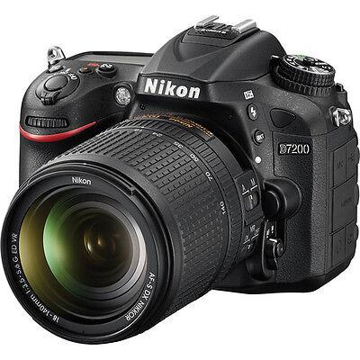 Nikon D7200 Digital SLR Camera w/18-140mm Lens * BRAND NEW*  1 YR WARRANTY