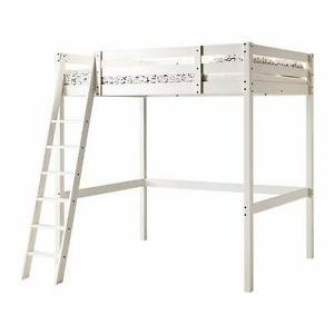 Double loft bunk bed frame and mattress Coorparoo Brisbane South East Preview